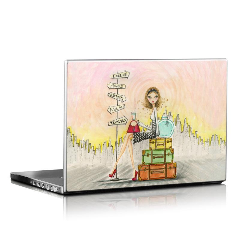 The Jet Setter Laptop Skin