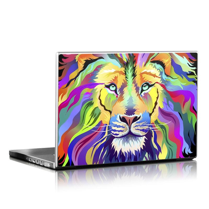 King of Technicolor Laptop Skin