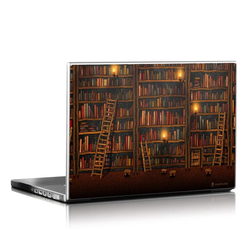 Library Laptop Skin