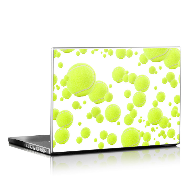 Lots of Tennis Balls Laptop Skin