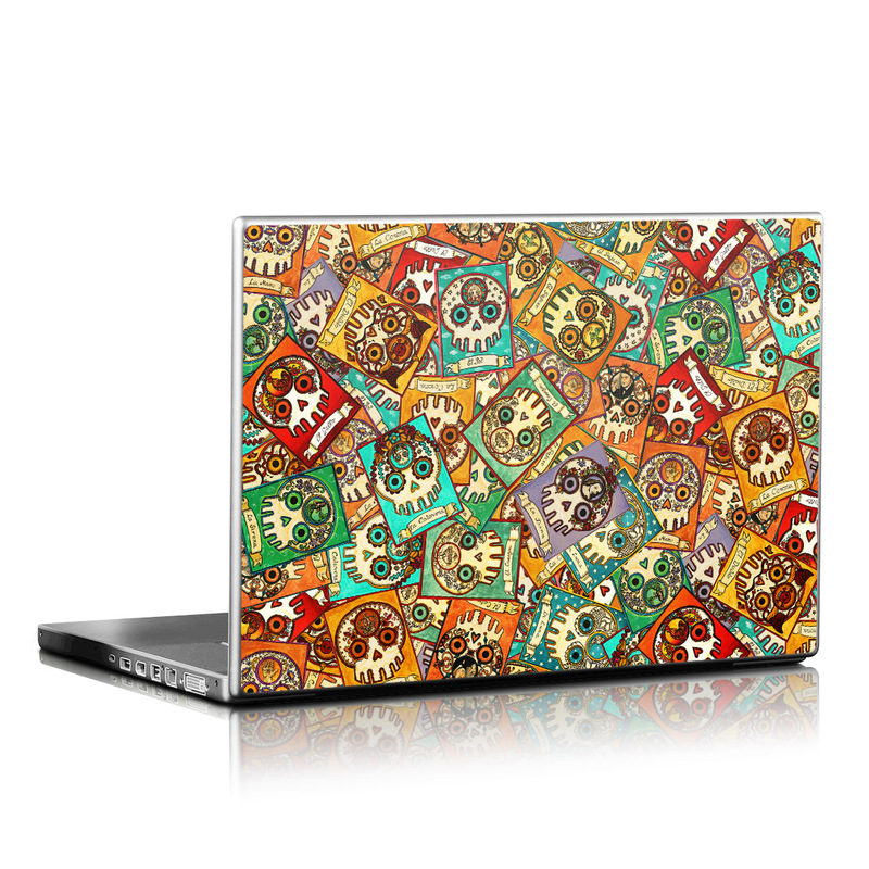 Loteria Scatter Laptop Skin