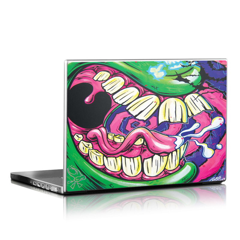 Mean Green Laptop Skin