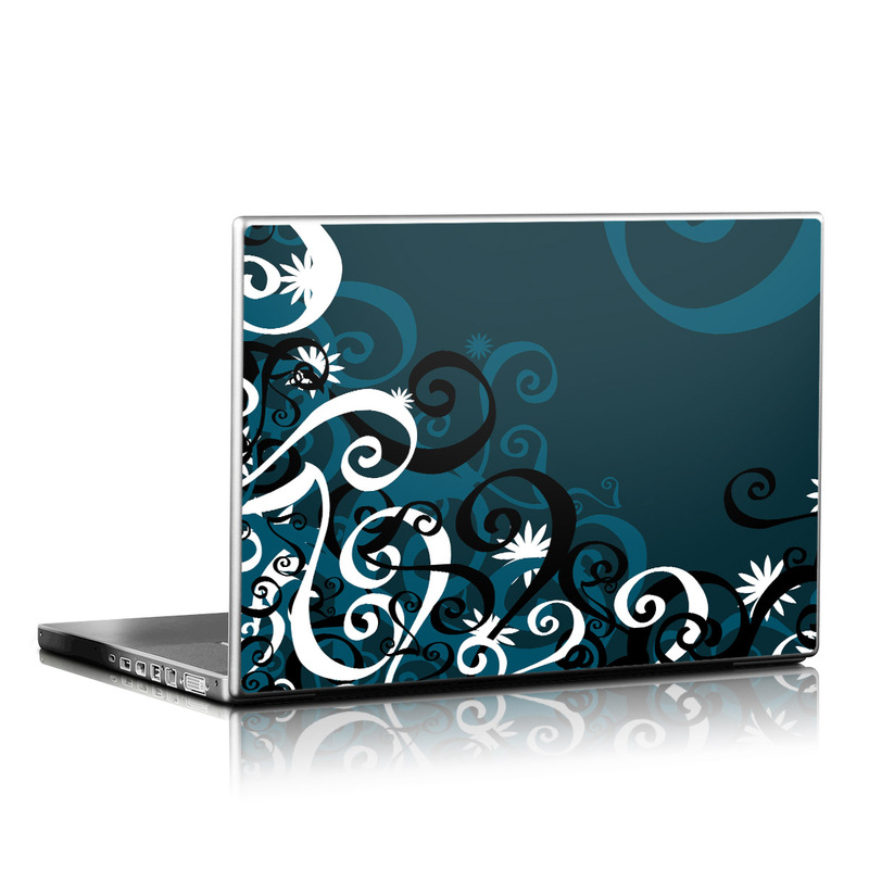 Midnight Garden Laptop Skin