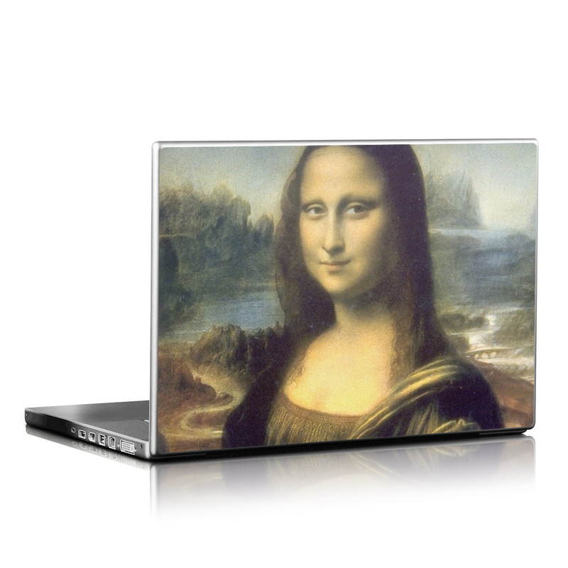 Mona Lisa Laptop Skin