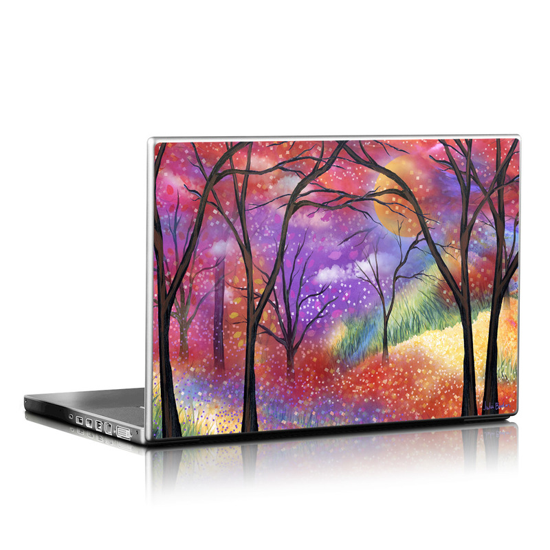 Moon Meadow Laptop Skin