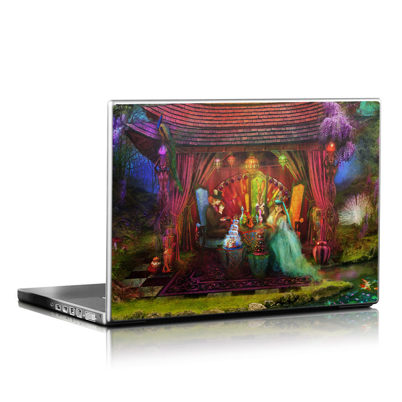 A Mad Tea Party Laptop Skin