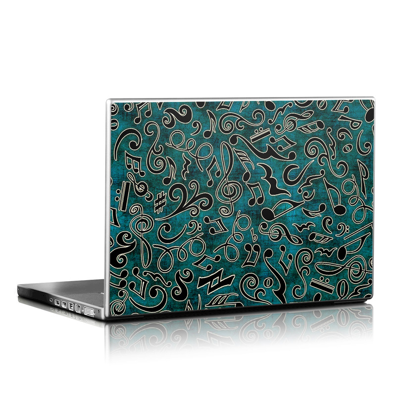 Music Notes Laptop Skin