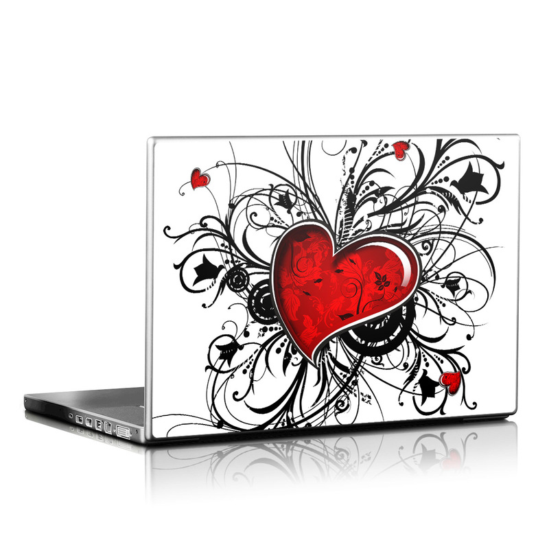 My Heart Laptop Skin