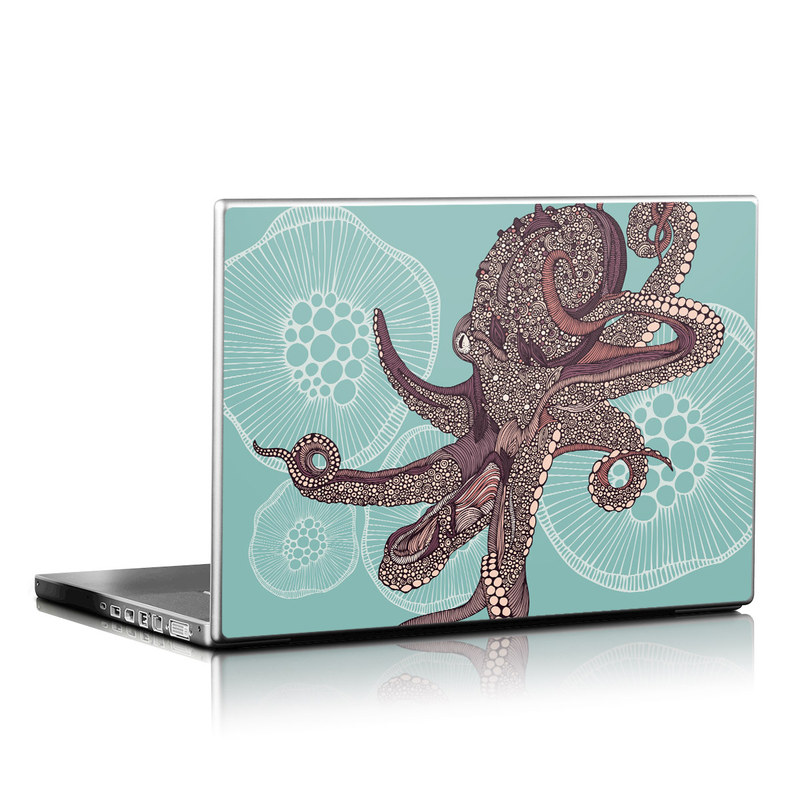 Octopus Bloom Laptop Skin
