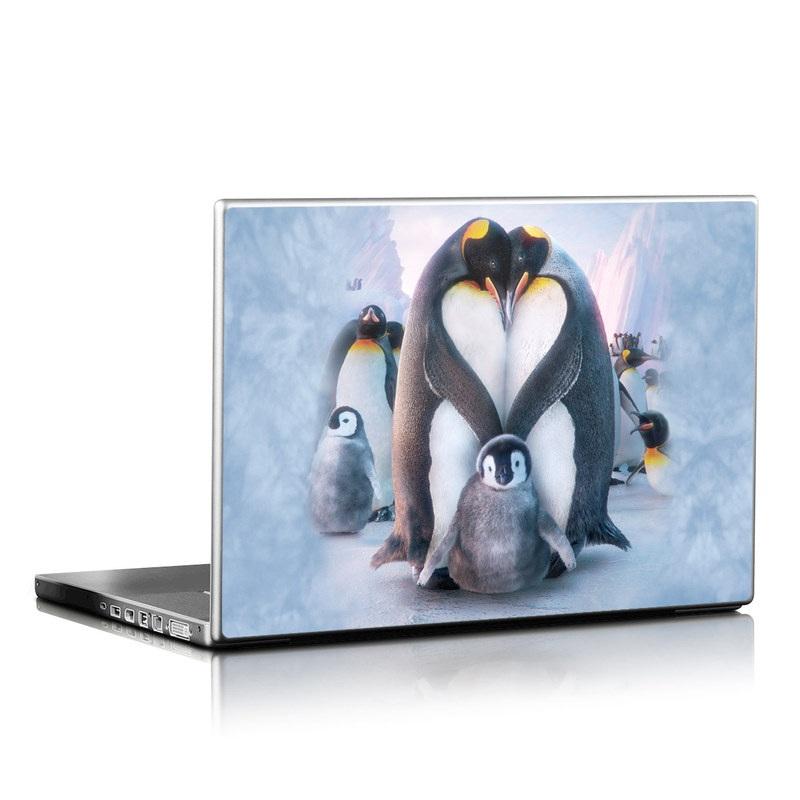 Penguin Heart Laptop Skin
