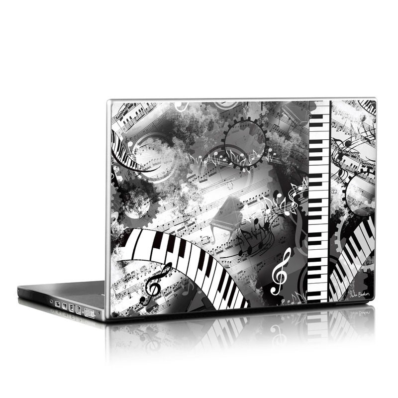Piano Pizazz Laptop Skin