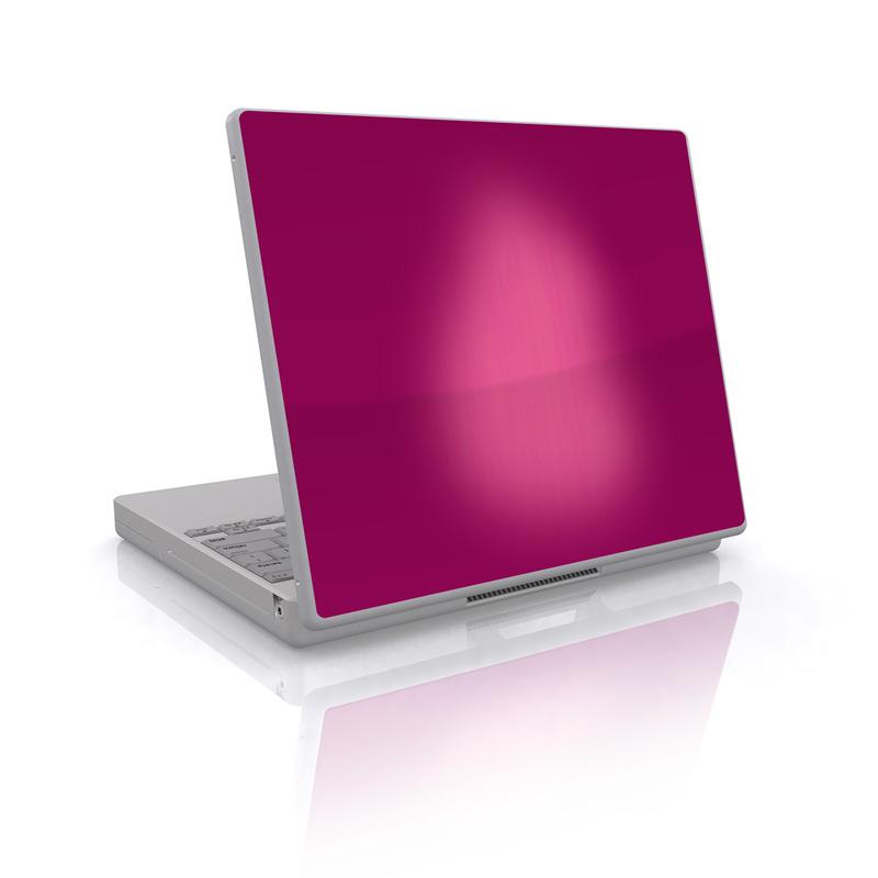 Pink Burst Laptop Skin