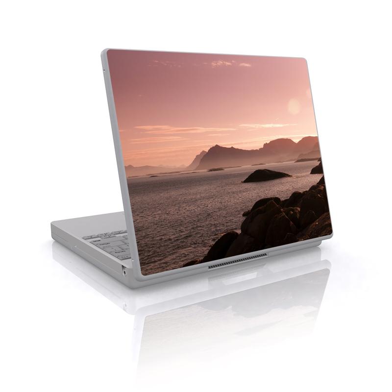 Pink Sea Laptop Skin