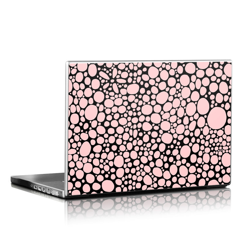 Pink Bubbles Laptop Skin