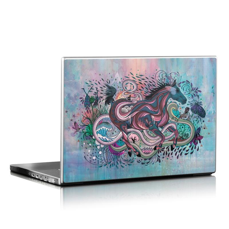 Poetry in Motion Laptop Skin