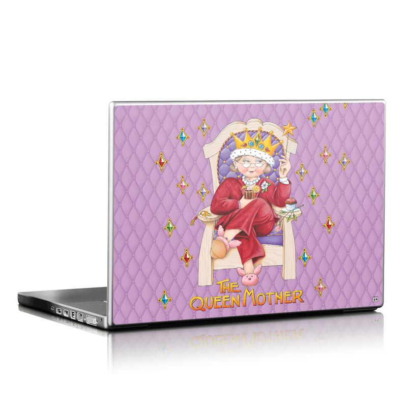 Queen Mother Laptop Skin