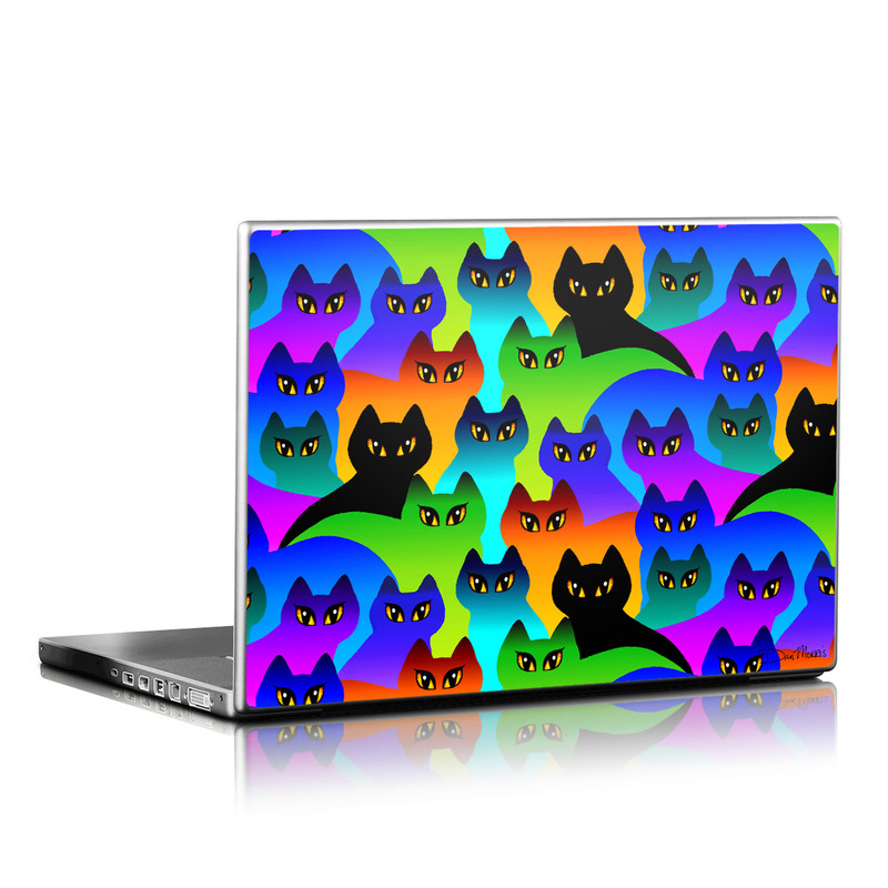 Rainbow Cats Laptop Skin