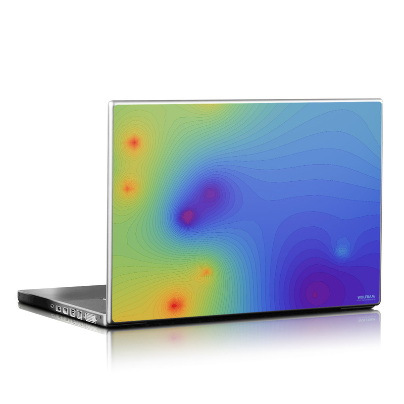 Rainbow Contours Laptop Skin