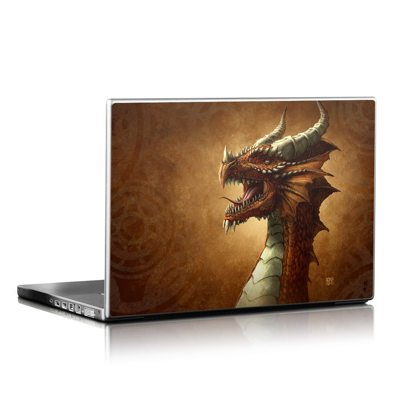 Red Dragon Laptop Skin