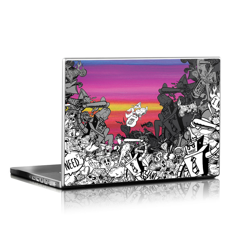 Robo Fight Laptop Skin