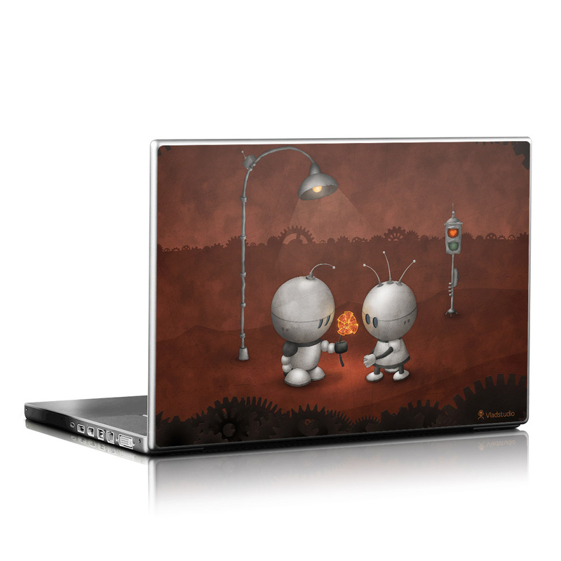 Robots In Love Laptop Skin