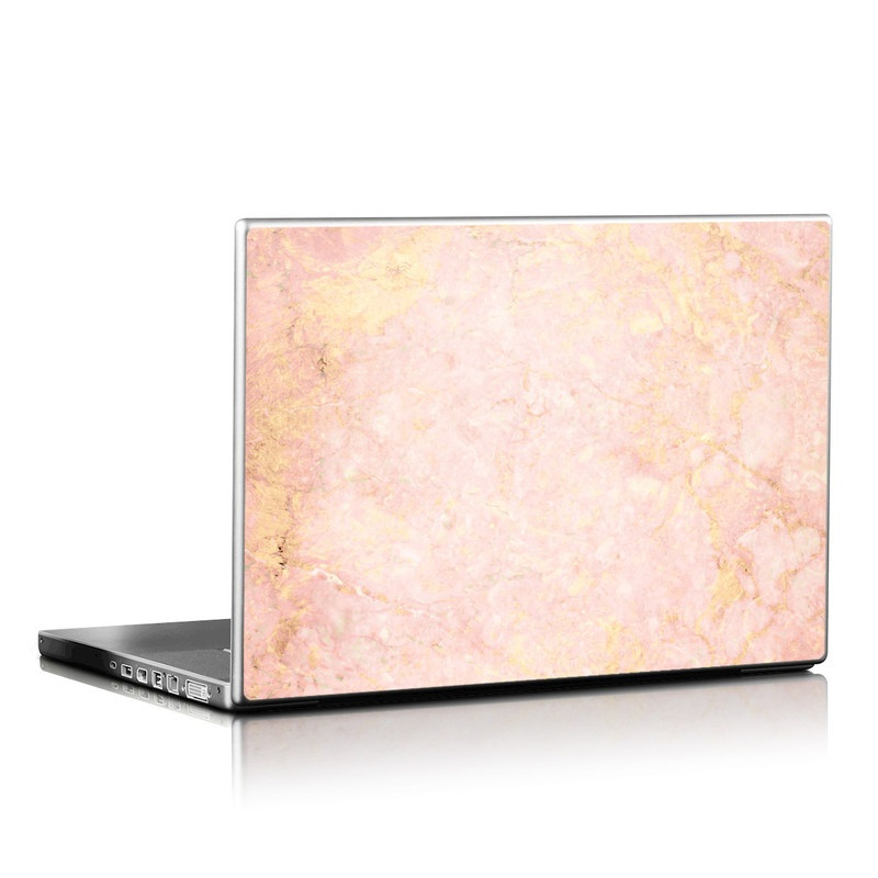 Rose Gold Marble Laptop Skin