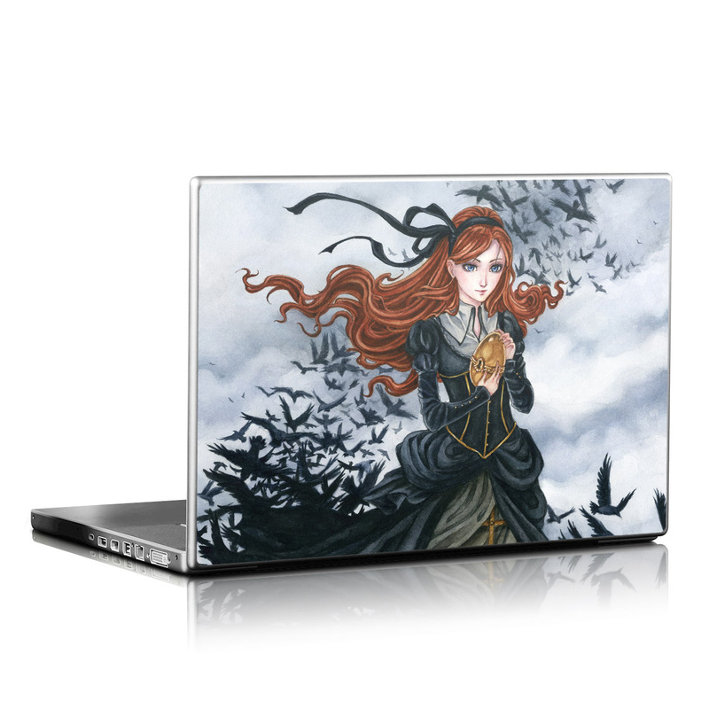 Raven's Treasure Laptop Skin