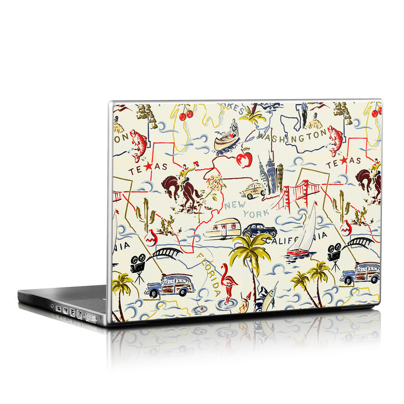 Road Trip Laptop Skin