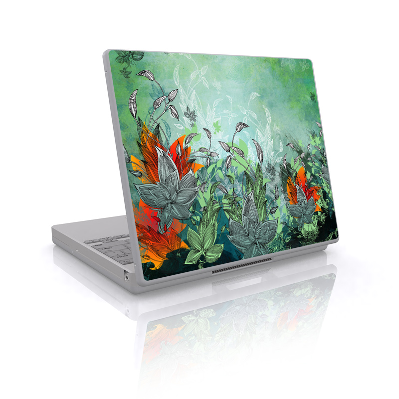 Sea Flora Laptop Skin