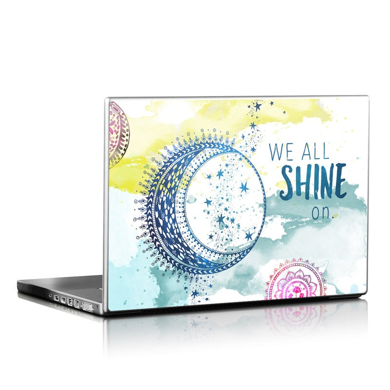 Laptop Skin design of Text, Line, Circle, Font, Illustration, Visual arts, Graphic design, Art with blue, red, purple, orange, pink colors