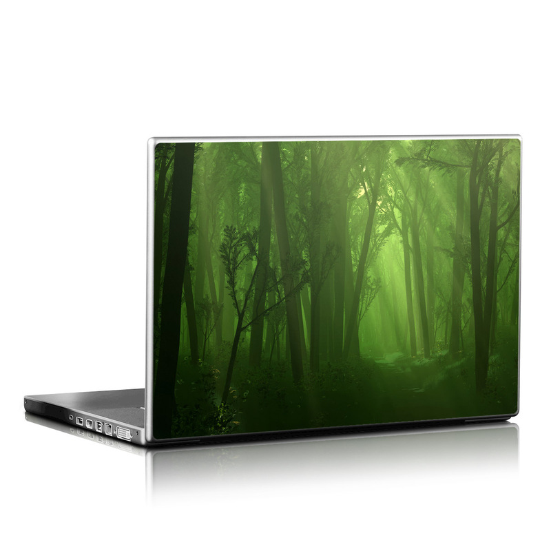 Spring Wood Laptop Skin