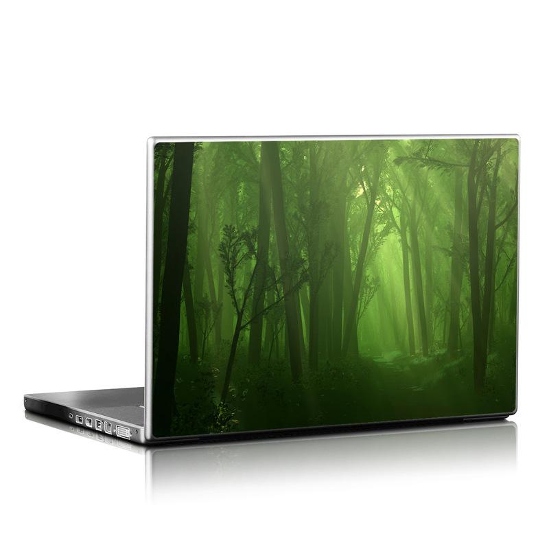Spring Wood Laptop Skin