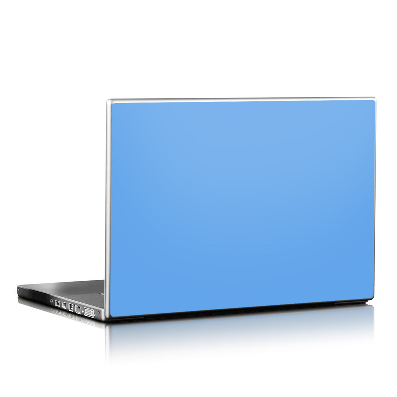 Solid State Blue Laptop Skin