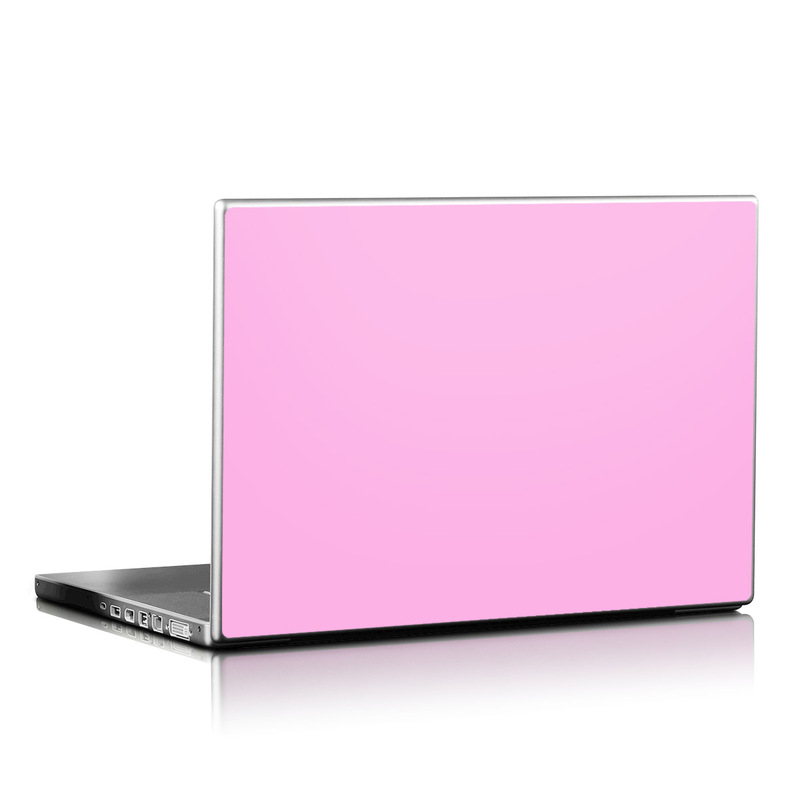 Laptop Skin design of Pink, Violet, Purple, Red, Magenta, Lilac, Sky, Material property, Peach with pink colors