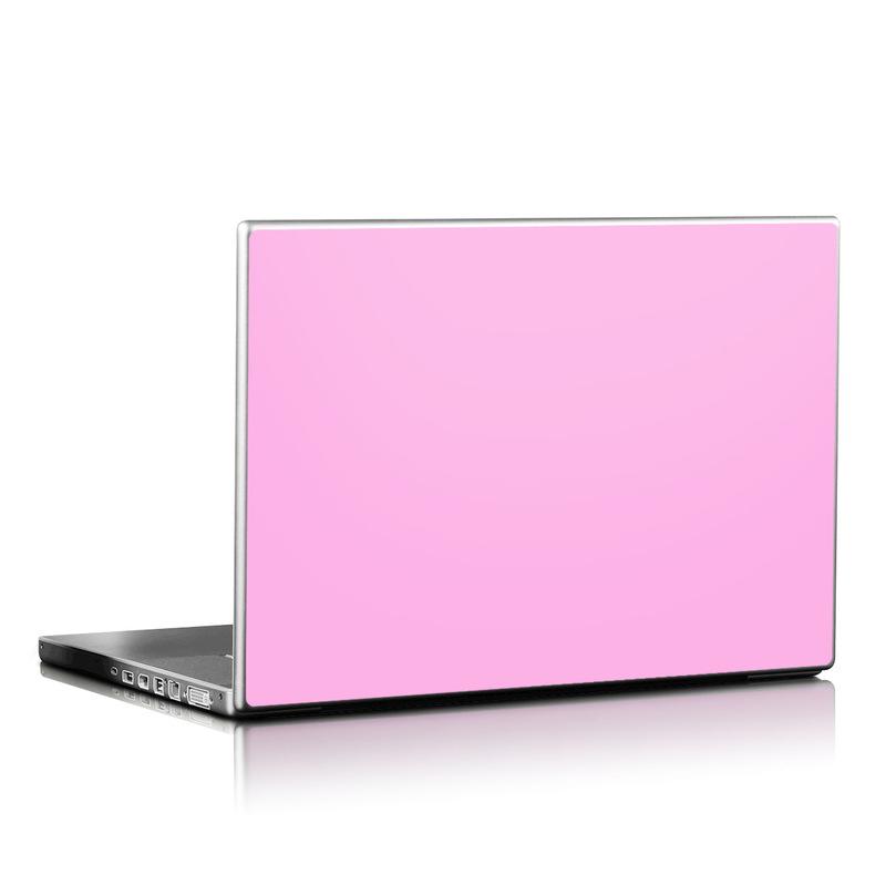Solid State Pink Laptop Skin