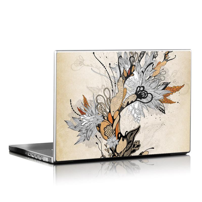 Sweet Floral Laptop Skin