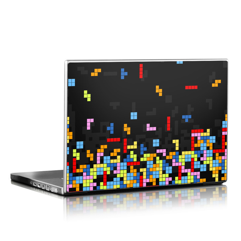 Laptop Skin design of Pattern, Symmetry, Font, Design, Graphic design, Line, Colorfulness, Magenta, Square, Graphics with black, green, blue, orange, red colors