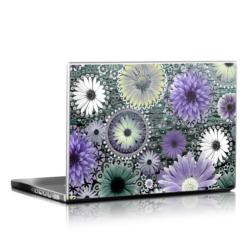 Tidal Bloom Laptop Skin