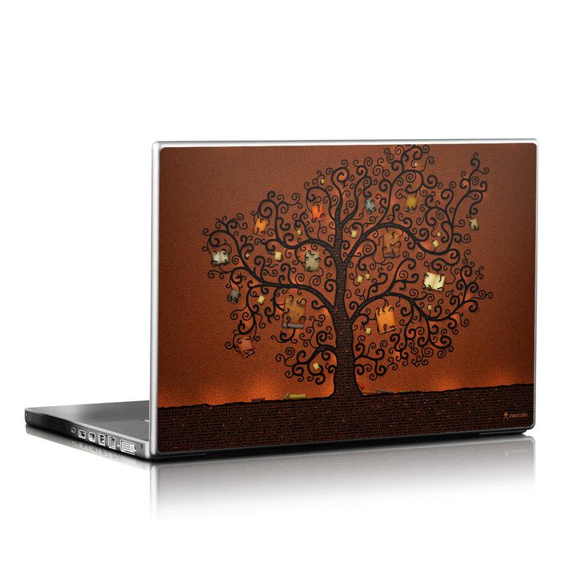 Tree Of Books Laptop Skin