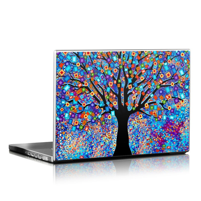 Tree Carnival Laptop Skin