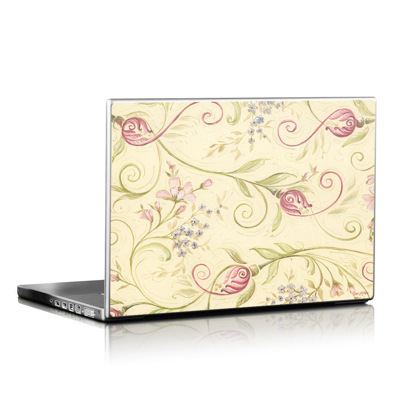 Tulip Scroll Laptop Skin