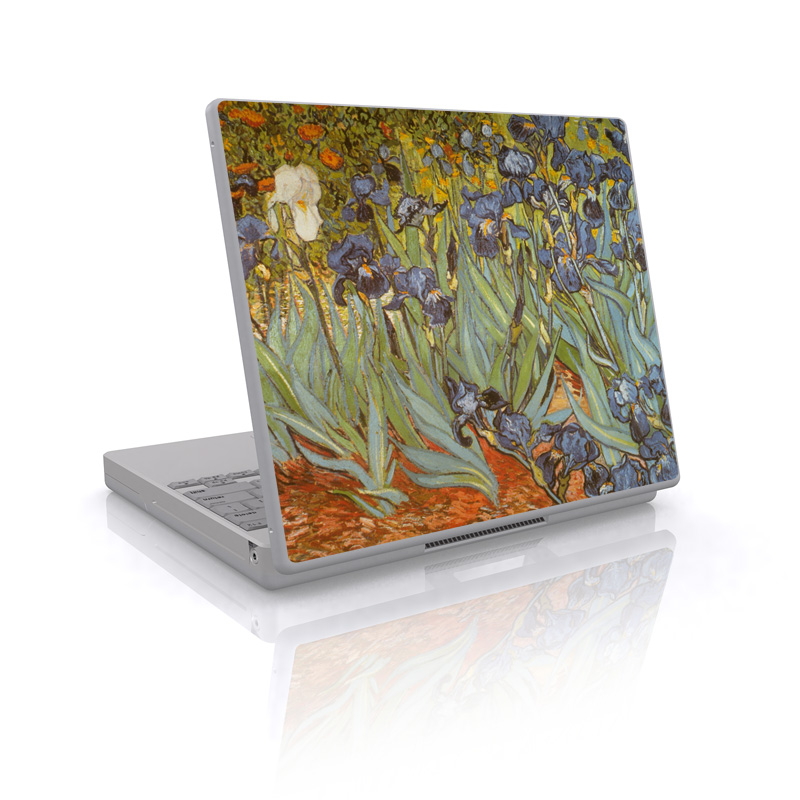 Van Gogh - Irises Laptop Skin