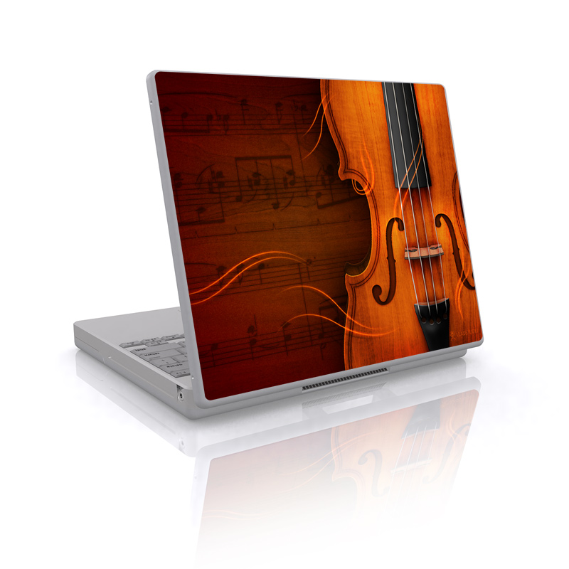 Violin Laptop Skin