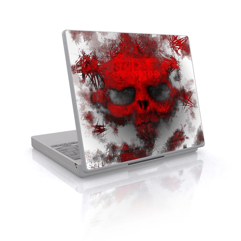 War Light Laptop Skin
