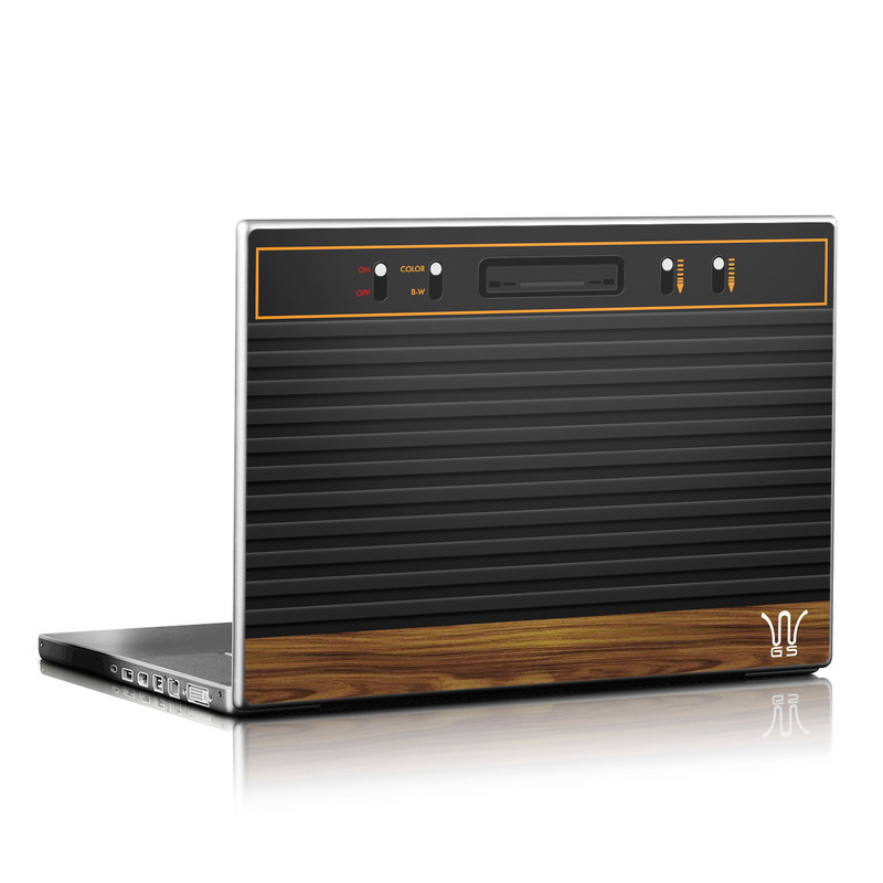 Wooden Gaming System Laptop Skin