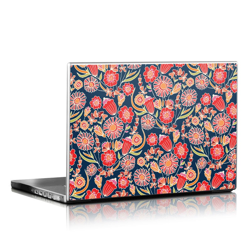Wild Flower Laptop Skin