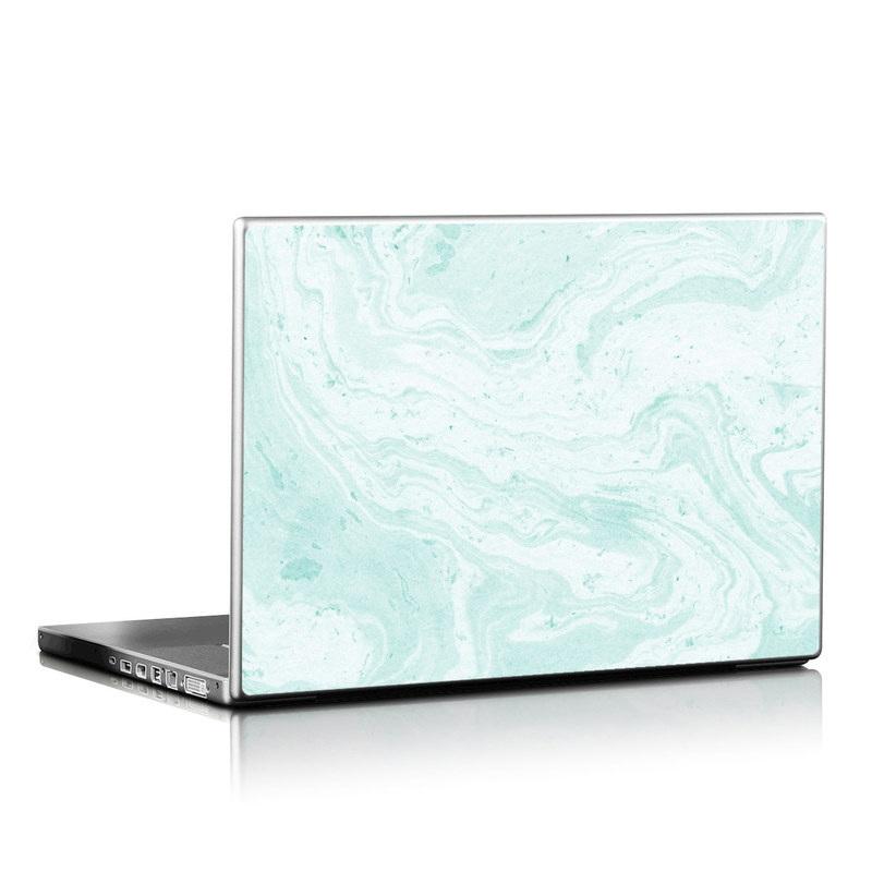 Winter Green Marble Laptop Skin