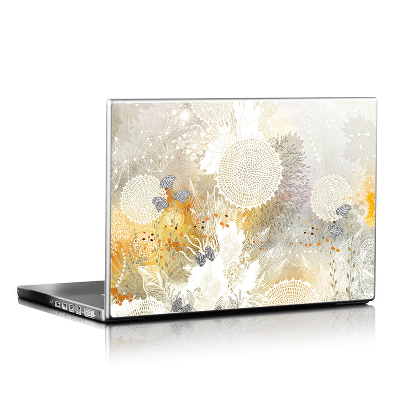 White Velvet Laptop Skin
