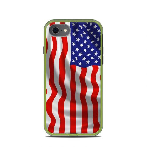 USA Flag LifeProof iPhone 8 Slam Case Skin