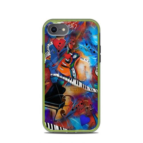 Music Madness LifeProof iPhone 8 Slam Case Skin